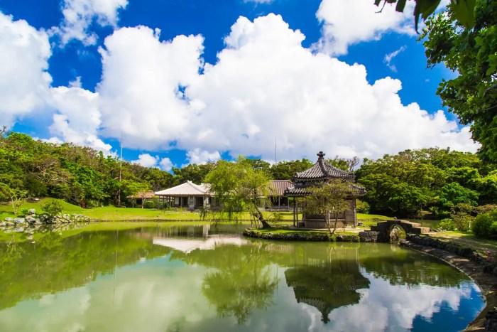 沖縄の世界遺産(識名園)