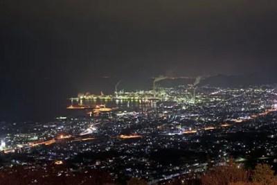 具定展望台からの夜景