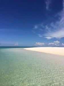 はての浜の美しい海