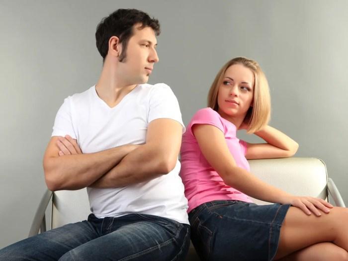 同棲が上手くいってないカップル