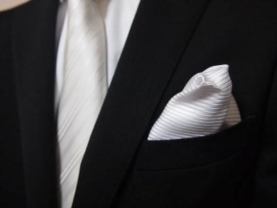 礼装とポケットチーフ