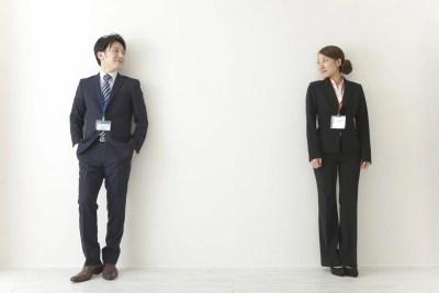 適度な距離感を持つ男女