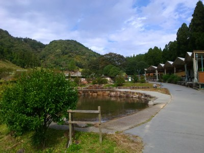 神崎農村公園ヨーデルの森の園内の様子