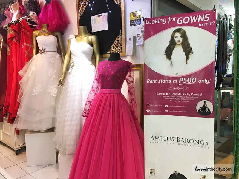 Wedding Gown For Rent By Damsel (Makati City)