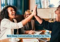 Deep Conversation Starters