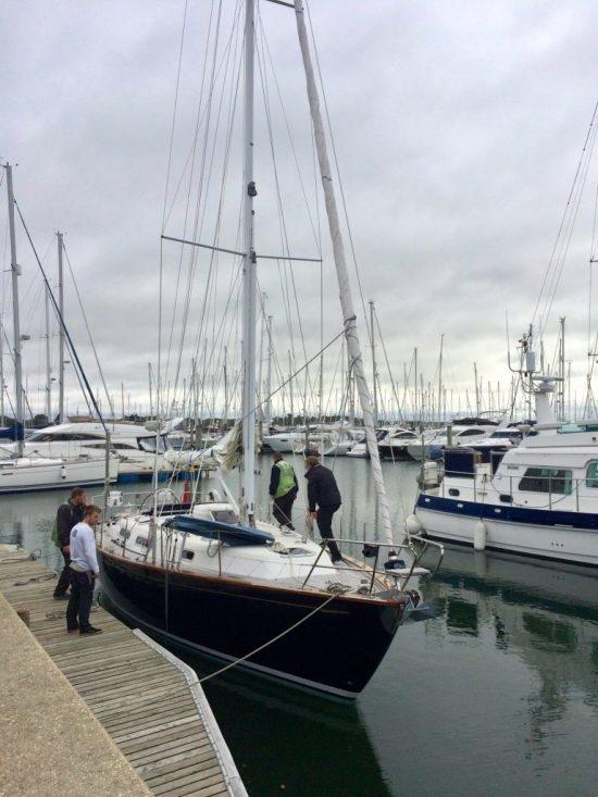lifting a boat