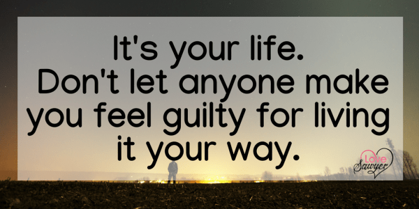 Banish Guilt quote