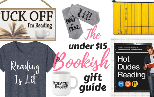 Bookish Gift Guide under $15