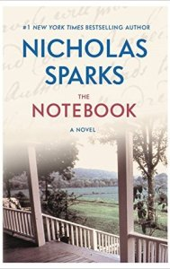 best romance novels the notebook by Nicholas sparks