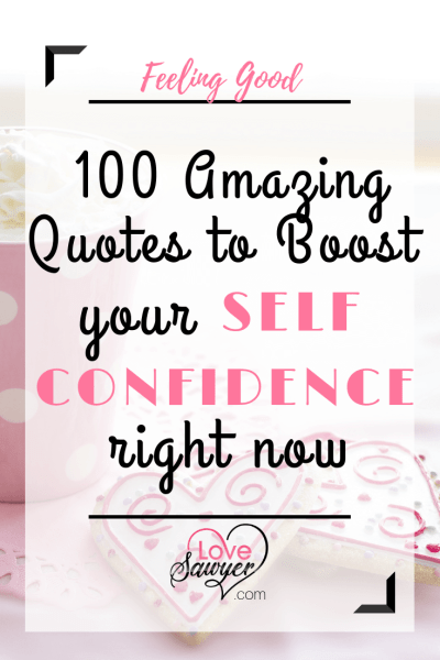 Self Confidence Boosting Quotes