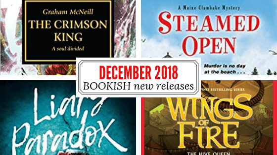 December 22 - 28, 2018 new release books