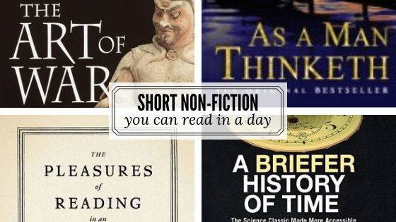 Short non-fiction you can read in a day