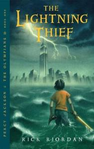 books for boys who don't like to read the lightening thief by rick riordan