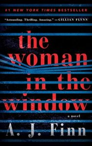 2019 book to movie adaptations The Woman in the Window by A. J. Finn
