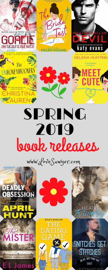 Most anticipated book releases of spring 2019