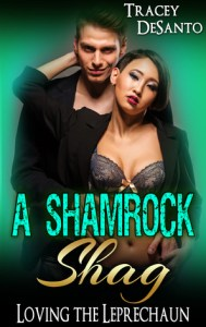 Romance novels with leprechauns a shamrock shag by tracey de santo