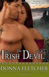 Irish Romance novels the irish devil by donna fletcher