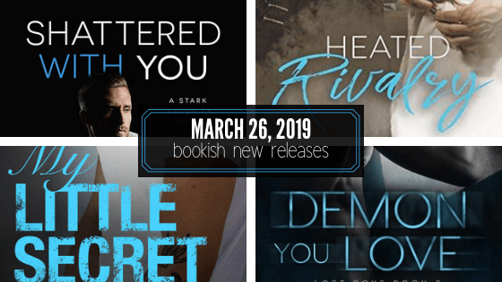 March 26, 2019 book releases