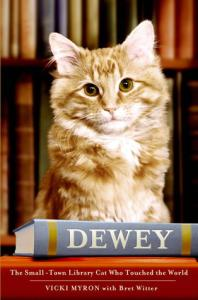 books for cat lovers dewey by vicki myron
