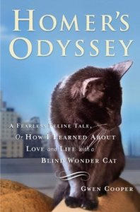 books for cat lovers homer's odyssey by Gwen Cooper