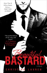 Bully to lover romance novels Beautiful Bastard by Christina Lauren