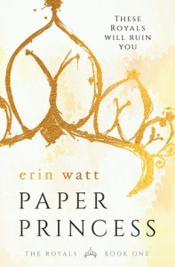Bully to lover romance novels Paper Princess by Erin Watt