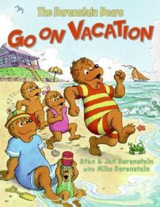 Summer reading list for 5 year olds: The Berenstain Bears Go on Vacation