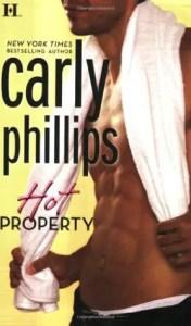 Baseball romance books: Hot Property by Carly Phillips
