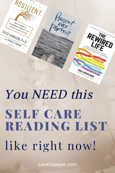 The Self Care Book List you need to read right now