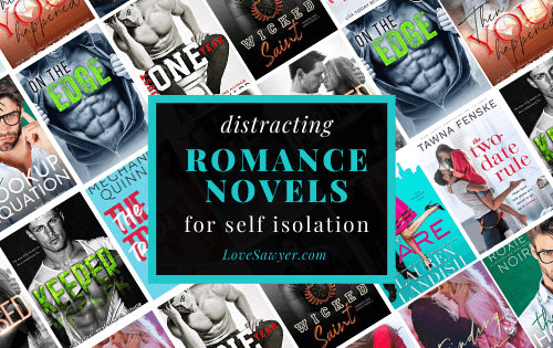 Distracting contemporary romance novels to read during self isolation