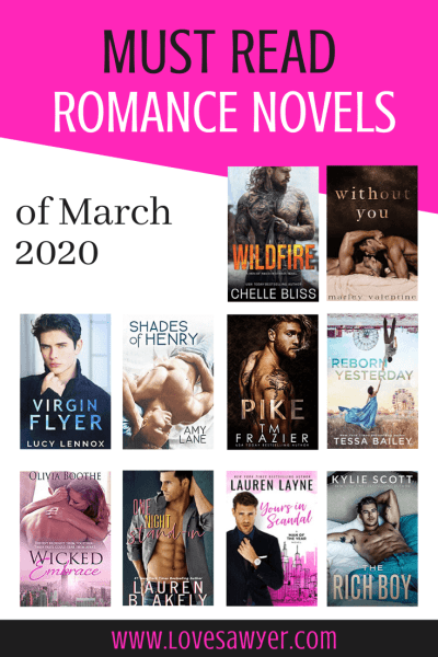 March 2020 new romance books to read