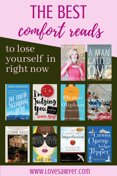 Comfort Reads - books to make you happy