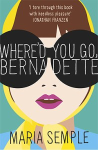 Books that will make you smile Where'd You Go, Bernedette by Maria Semple