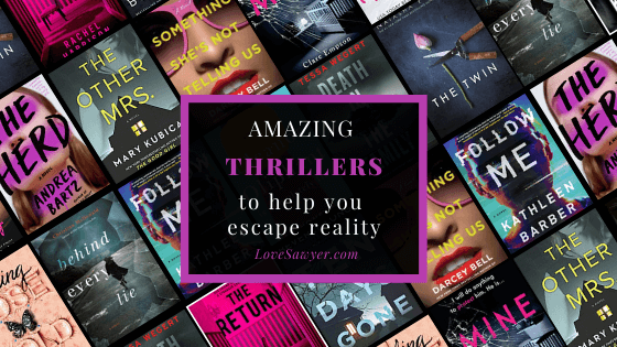 Twisty thrillers you have to read