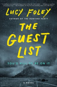 Most anticipated thrillers of June 2020 The Guest List by Lucy Foley
