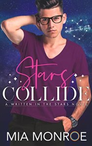 Gay romance release Stars Collide by Mia Monroe