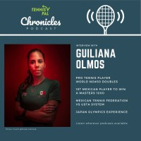Guiliana Olmos Interview : 1st Mexican player to win a Masters 1000, Japan Olympics Experience, Mexican Tennis Federation vs USTA