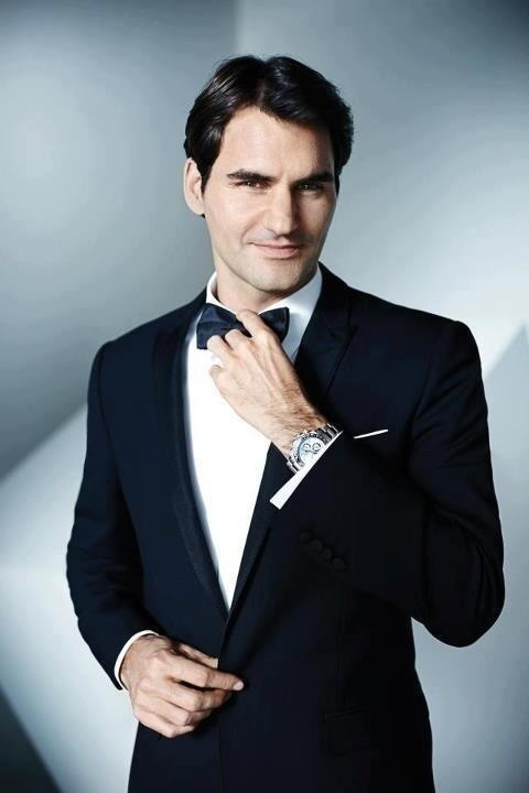 Roger Federer looking pretty sharp!!