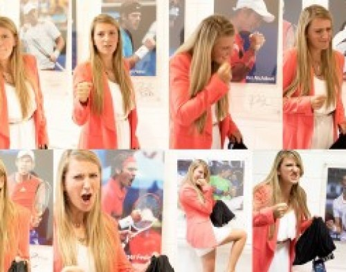 "#Vika : ""Impersonations of my fellow tennis guys"""