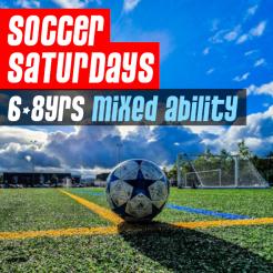 Soccer Saturdays 6-8yrs