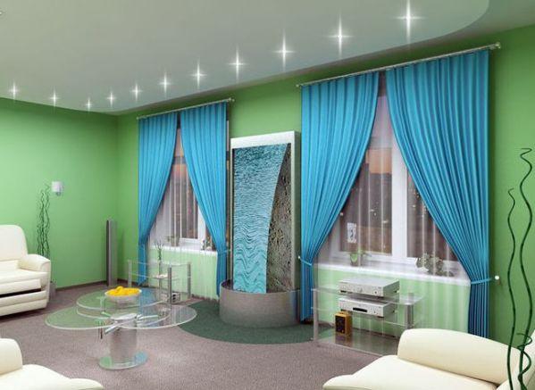 Какие шторы подойдут к зеленым обоям в спальню и не только