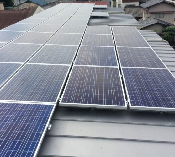 image - 5棟目新築アパート屋根に6基目太陽光発電所設置完了