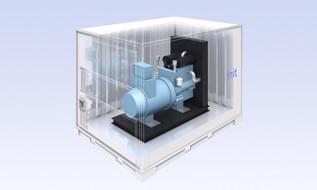 Container 0011 0423 - バイオマス発電コンテナ運搬システム