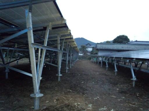 DSC 0018 - 熊本野立50KW太陽光発電所完成