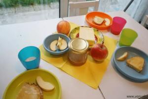 Традиционный словенский завтрак