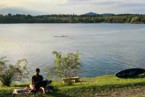 Кочевское озеро Словения