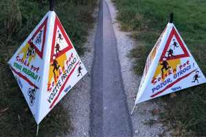 Школьные дороги в Словении