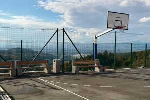 Спортивная площадка в горах Словении