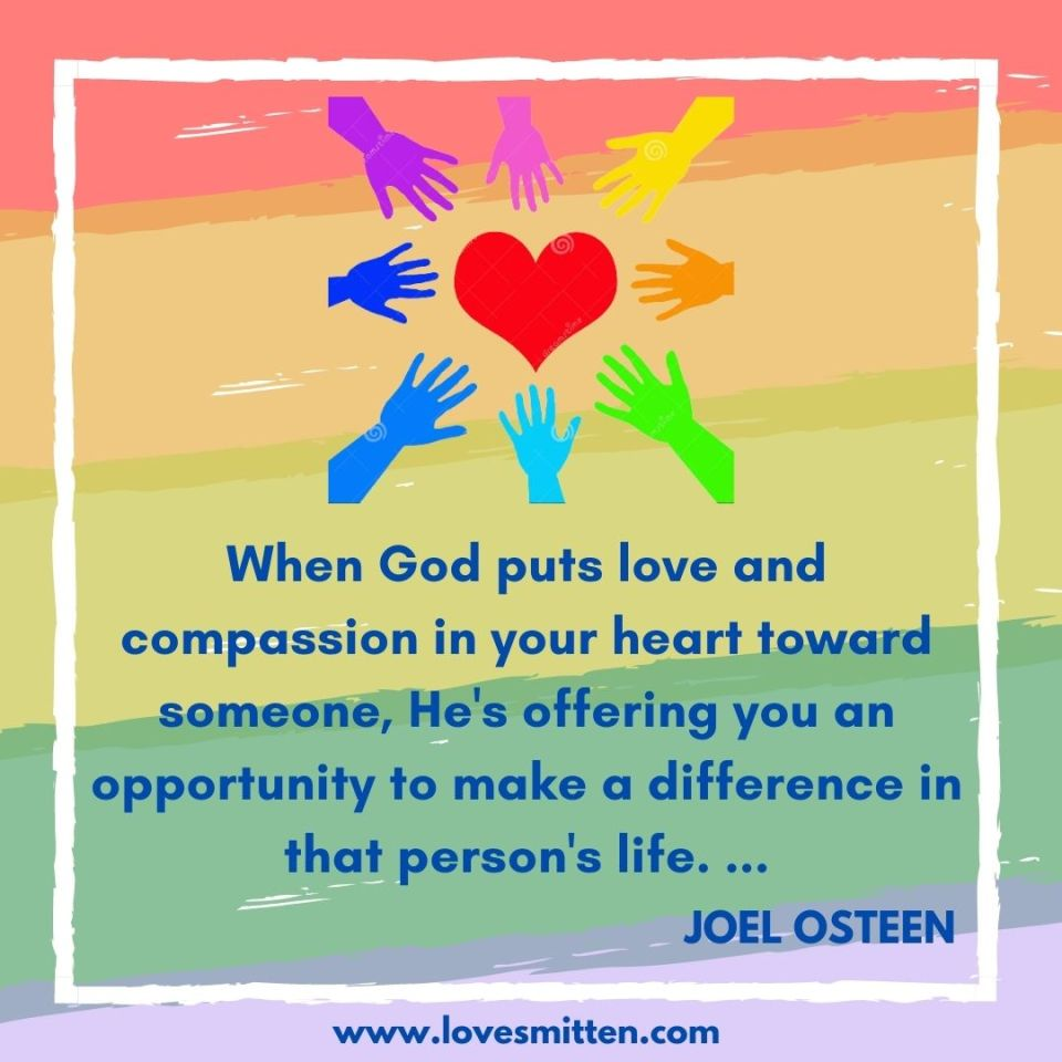 joel osteen quotes about love