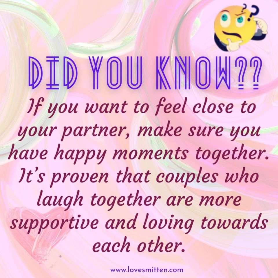 did you know love facts